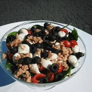 świeże sałatki